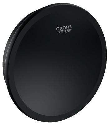 Grohe Talento 19025KS0 Поворотная ручка и крышка сливного отверстия для ванны (Черный бархат)