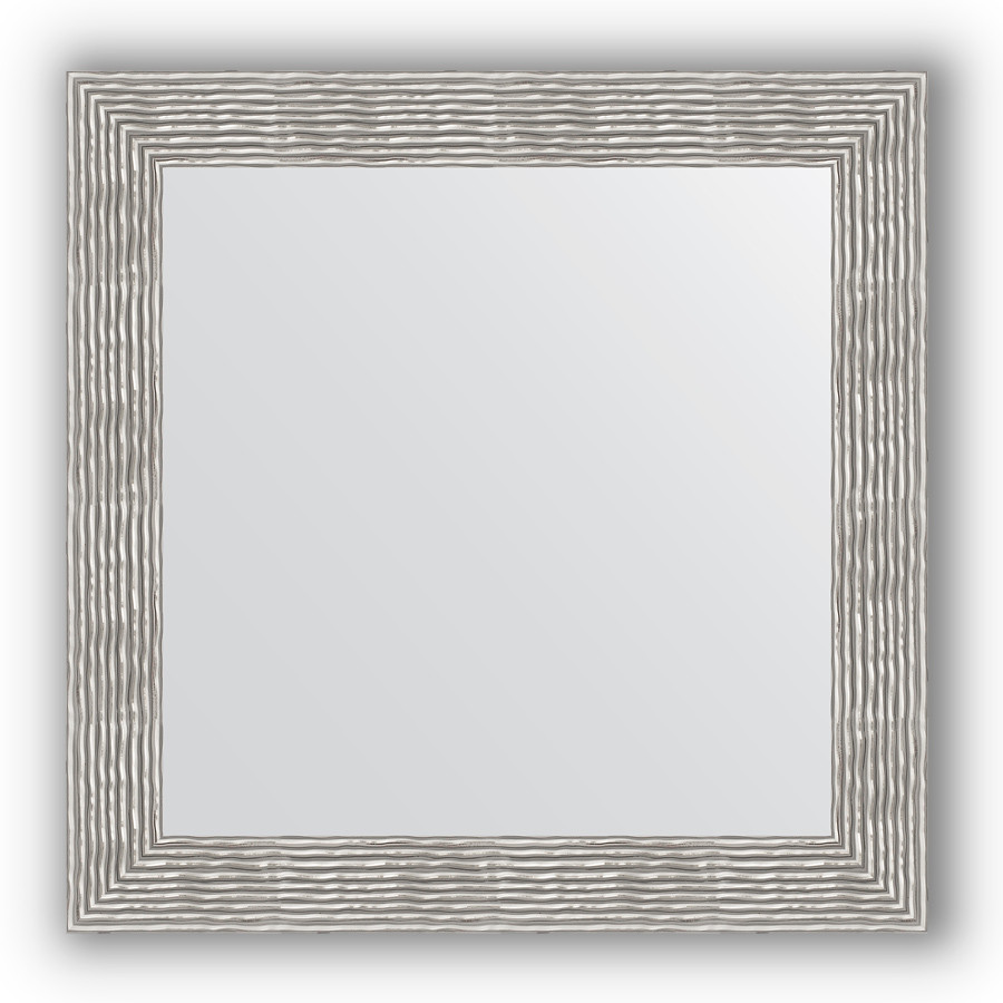 Зеркало 80х80 см волна хром Evoform Definite BY 3249 зеркало 80х80 см волна хром evoform definite by 3249