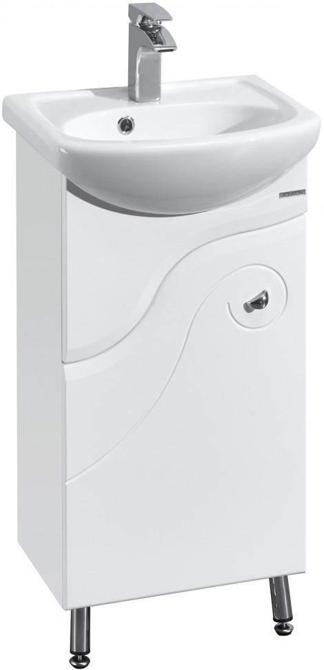 цена на Тумба белый глянец 41 см Акватон Колибри 1A065201KO01L