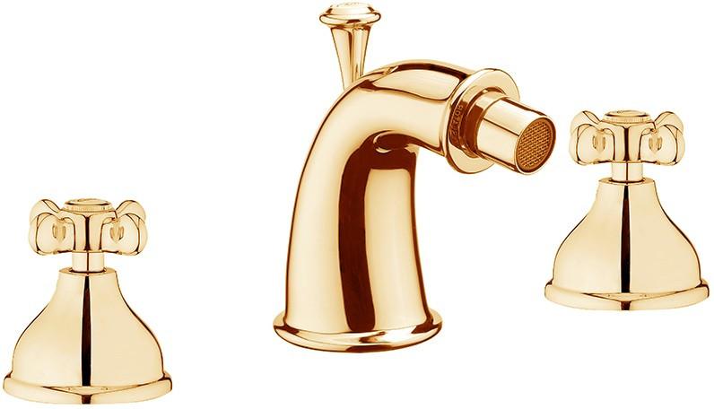 Фото - Смеситель для биде с донным клапаном Webert Ottocento OT710202010 смеситель для ванны webert ottocento ot720801 хром белый