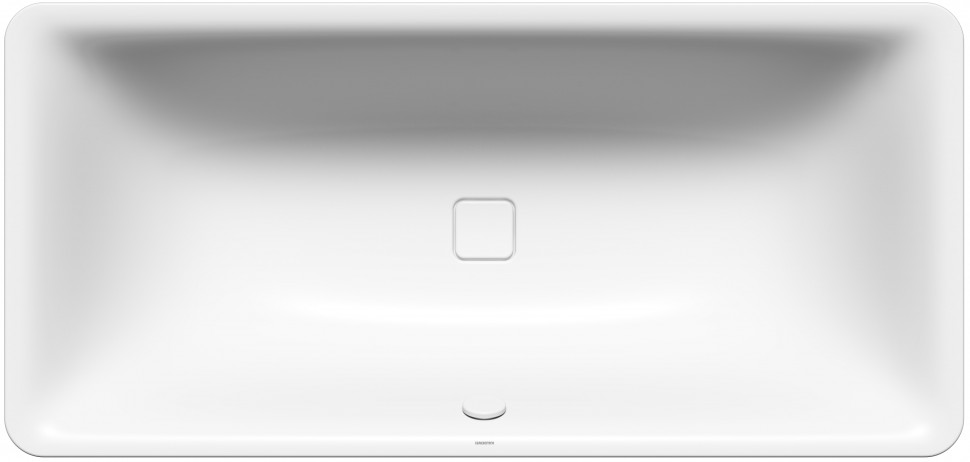 Стальная ванна 180х80 см Kaldewei Incava 174 с покрытием Easy-Clean раковина kaldewei cono 3090 easy clean 90x50 902606013001