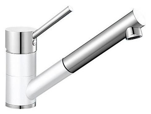 Смеситель для кухни Blanco Antas-S Хром/Белый 515350 смеситель для кухни blanco antas хром белый 515339