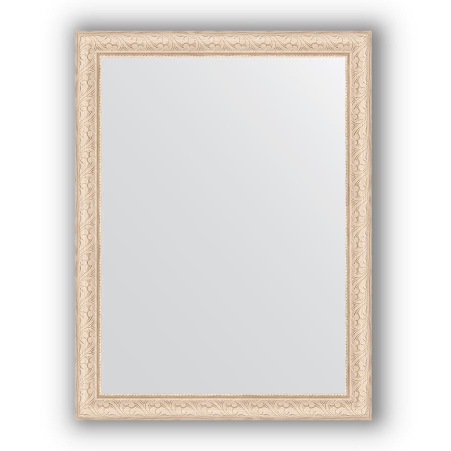 Фото - Зеркало 64х84 см беленый дуб Evoform Definite BY 1011 зеркало evoform definite 104х54 беленый дуб