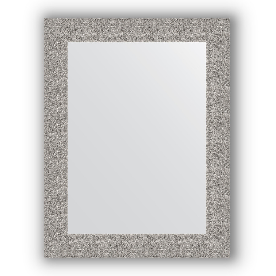 Фото - Зеркало 70х90 см чеканка серебряная Evoform Definite BY 3183 зеркало 70х70 см чеканка серебряная evoform definite by 3151