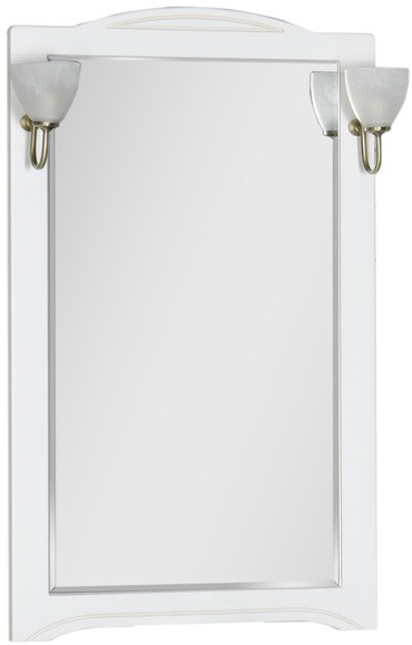 Зеркало 70х112 см белый Aquanet Луис 00173214