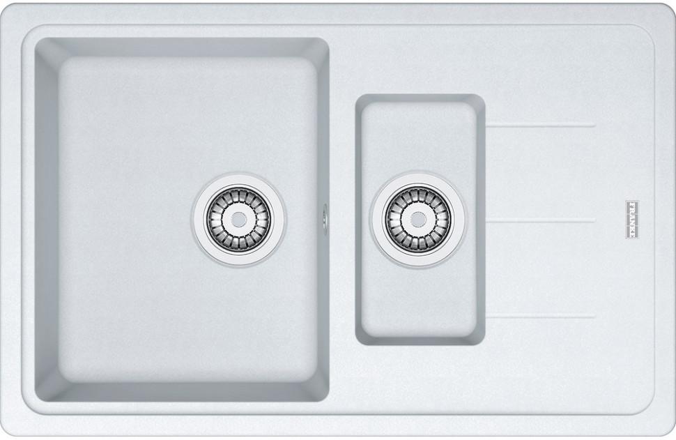 Кухонная мойка Franke Basis BFG 651-78 белый 114.0280.893