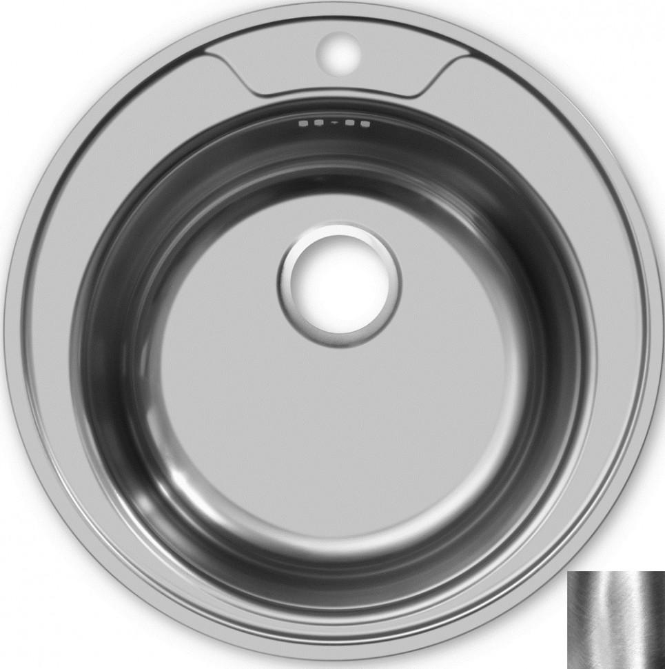 Кухонная мойка полированная сталь Ukinox Фаворит FAP490 -GT8K 0C ukinox fal510 gt8k 0c