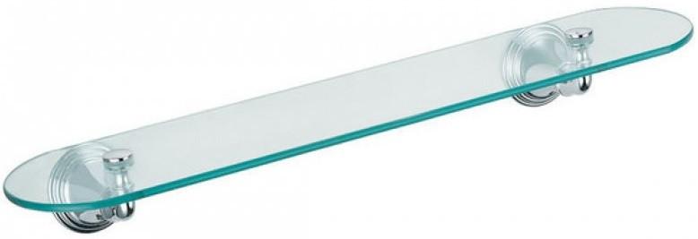 Полка стеклянная 52 см Fixsen Best FX-71603 полка стеклянная 50 см fixsen rosa fx 95003