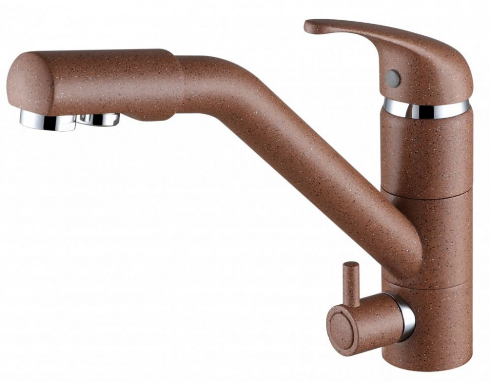 Фото - Смеситель для кухни с подключением к фильтру Paulmark Hessen He213017-307 смеситель для кухни с подключением к фильтру paulmark hessen he213017 310