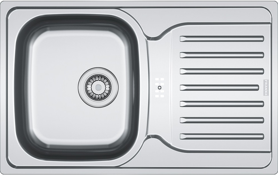 Кухонная мойка Franke Polar PXL 614-78 декоративная сталь 101.0192.921 цена