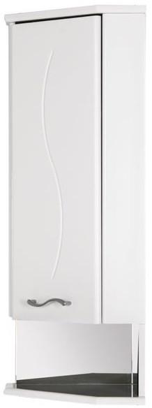 Шкаф угловой правый белый Aquanet Моника 00186781