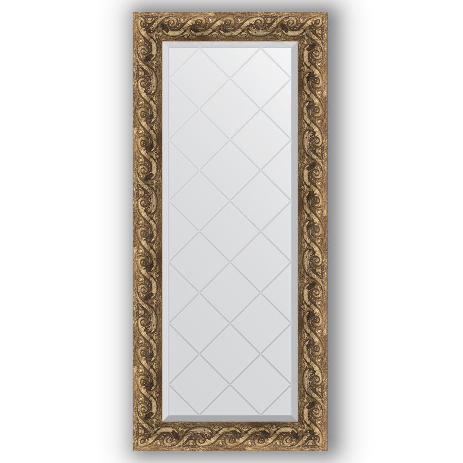 Зеркало 56х125 см фреска Evoform Exclusive-G BY 4055 зеркало evoform exclusive g 185х131 фреска