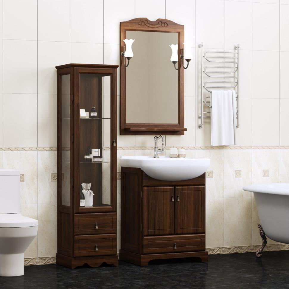 Комплект мебели орех антикварный 66 см Opadiris Клио KLIO65KOMP46
