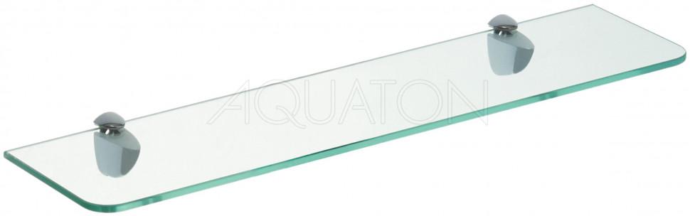 Фото - Полка стеклянная 50 см Акватон Ария 1A140403AA010 полка стеклянная 95 см акватон отель 1a110403xx010