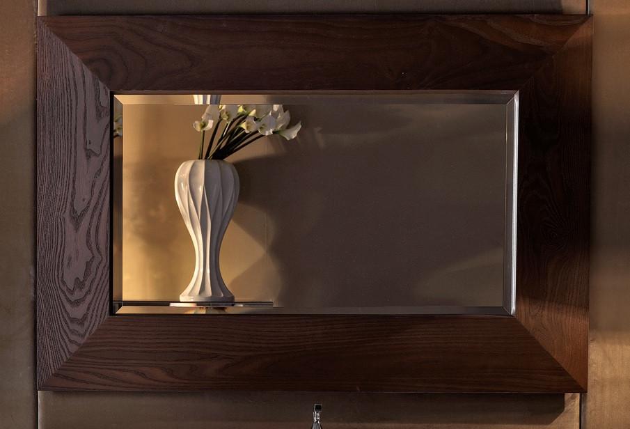 Зеркало 120 см темный ясень Kerasan Bentley 918147 Frassino scuro