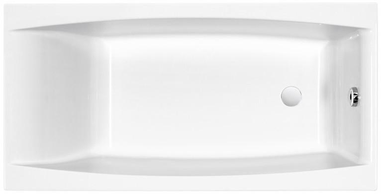 Акриловая ванна 150х75 см Cersanit Virgo WP-VIRGO*150 cersanit ванна акриловая cersanit flavia 150 70