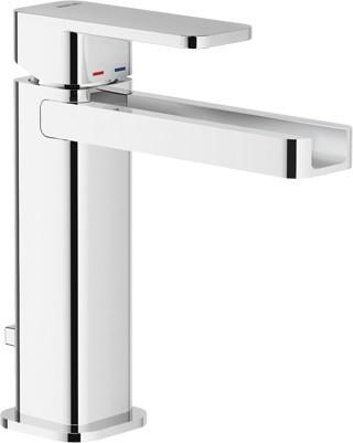 Смеситель для раковины с донным клапаном Nobili Loop LPC90118/1CR смеситель для ванны teknobili loop lp90110 1cr