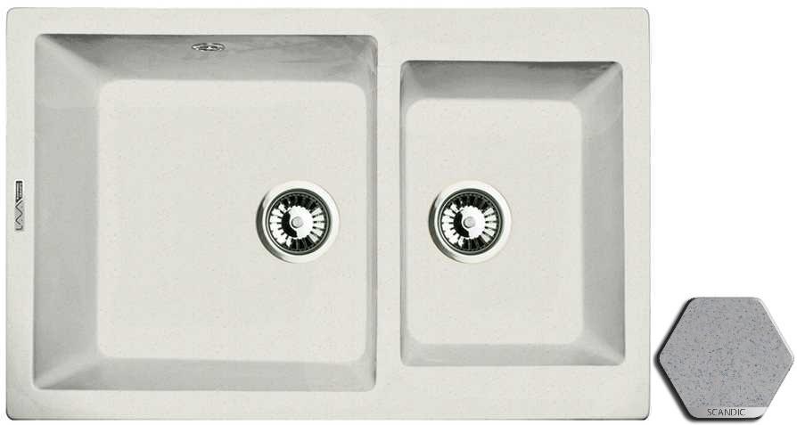 Кухонная мойка SCANDIC Lava D3.SCA недорго, оригинальная цена