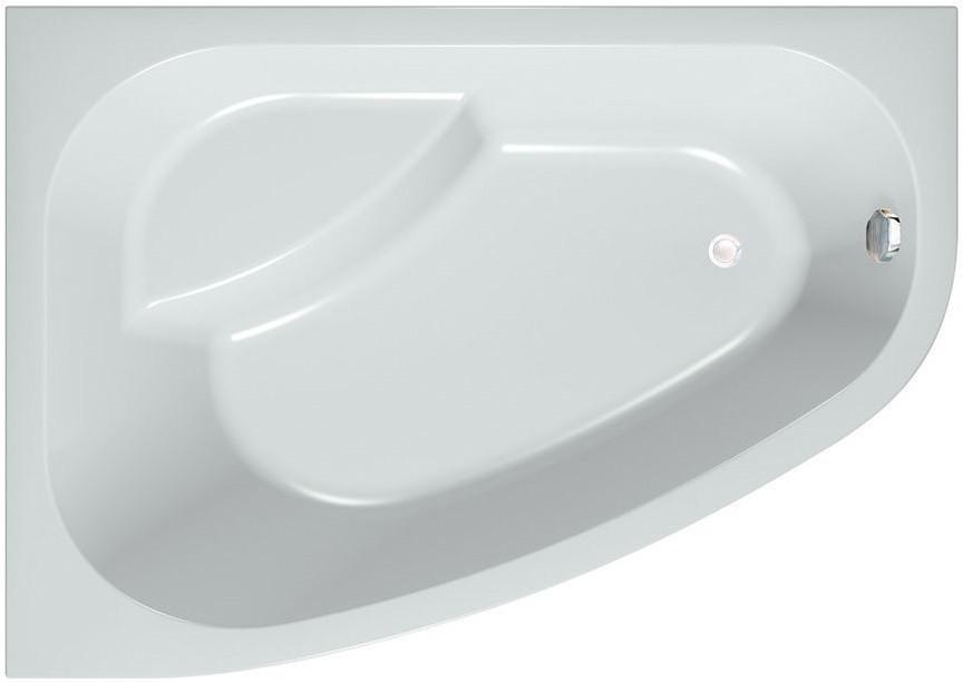 Акриловая ванна 170х120 см D Kolpa San Chad/S Basis акриловая ванна с гидромассажем kolpa san chad s magic l 170x120 см левая на каркасе слив перелив