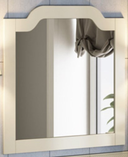 Зеркало 90х90 см слоновая кость Comforty Версаль 00003130382 цена