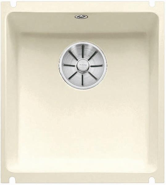 Кухонная мойка Blanco Subline 375-U InFino глянцевый магнолия 523727 schock мойка кухоннаяschock signus 90c c 150 магнолия