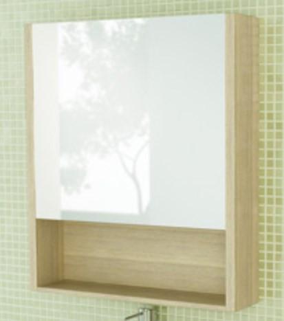 Зеркальный шкаф 60х70 см сосна лоредо Comforty Марио 00003131979 зеркальный шкаф акватон стамбул 85 1a128402st590 сосна лоредо