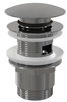 Донный клапан с переливом ClickClack Ravak X01437
