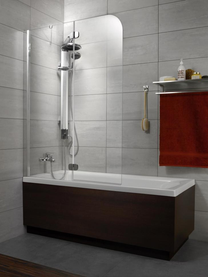 Шторка для ванны Radaway Torrenta PND 121 L графитовое шторка на ванну radaway torrenta pnd 121 стекло графитовое l