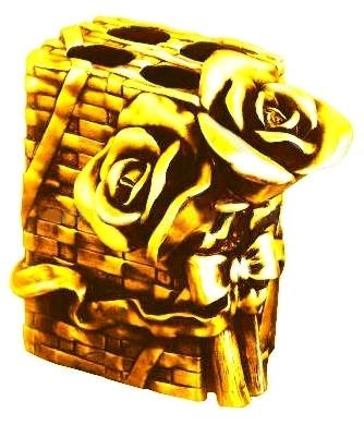 Держатель зубных щеток настольный золото Art&Max Rose AM-0091B-Do недорго, оригинальная цена