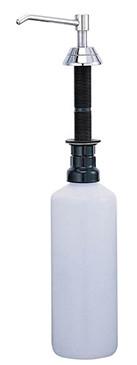 Диспенсер для мыла 1000 мл хром Nofer Inserts 03101.B диспенсер для мыла axentia graz eckig квадрат 131077 черный 275 мл