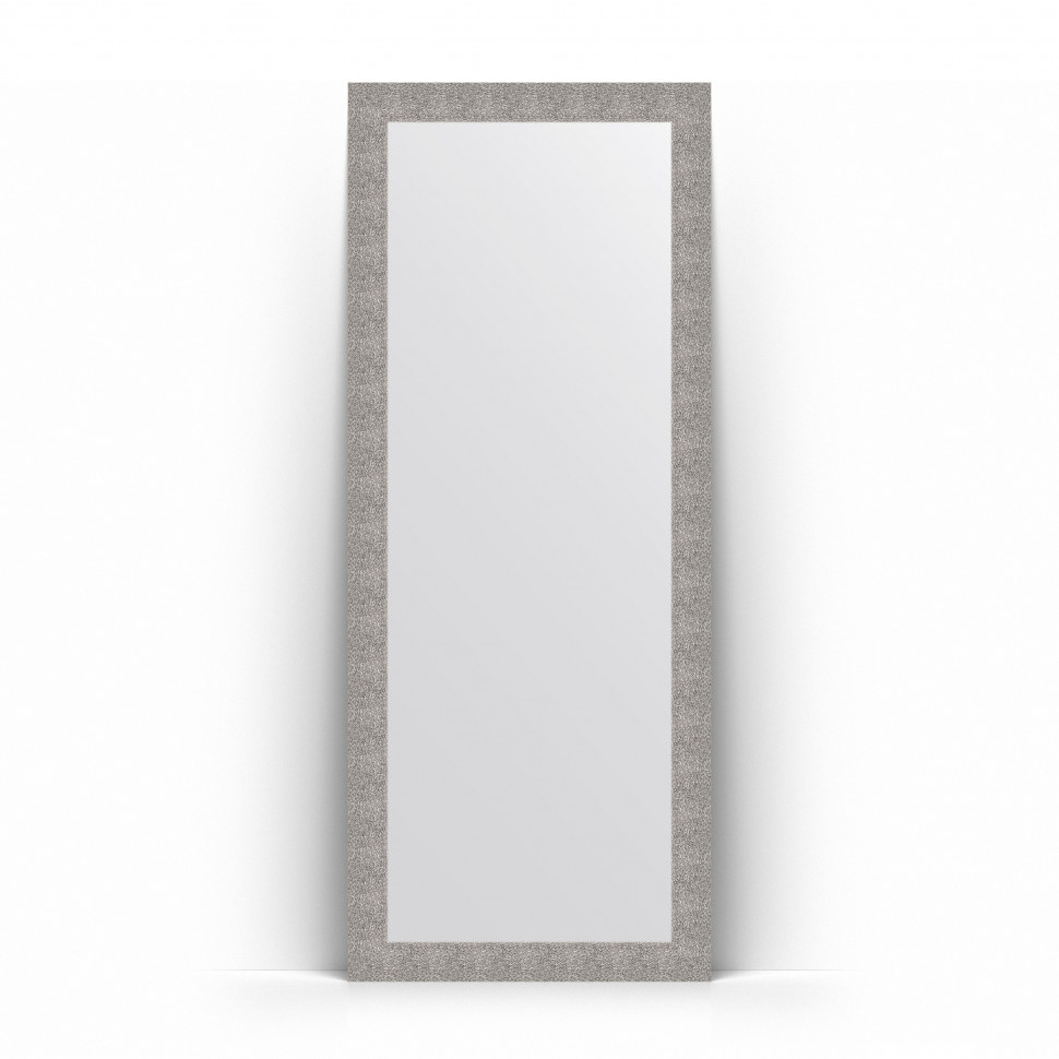 Фото - Зеркало напольное 81х201 см чеканка серебряная Evoform Definite Floor BY 6009 зеркало напольное 111х201 см чеканка золотая evoform definite floor by 6020