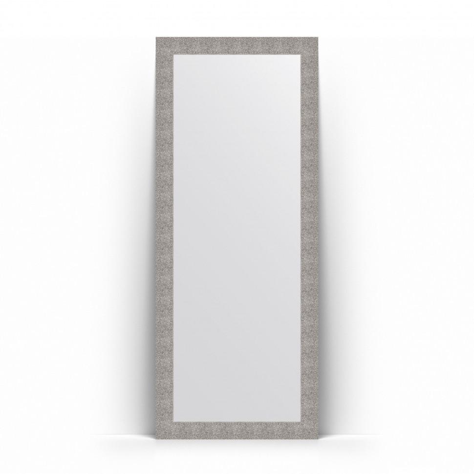 Зеркало напольное 81х201 см чеканка серебряная Evoform Definite Floor BY 6009
