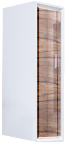 Шкаф дерево/белый глянец L Marka One Seattle У73218