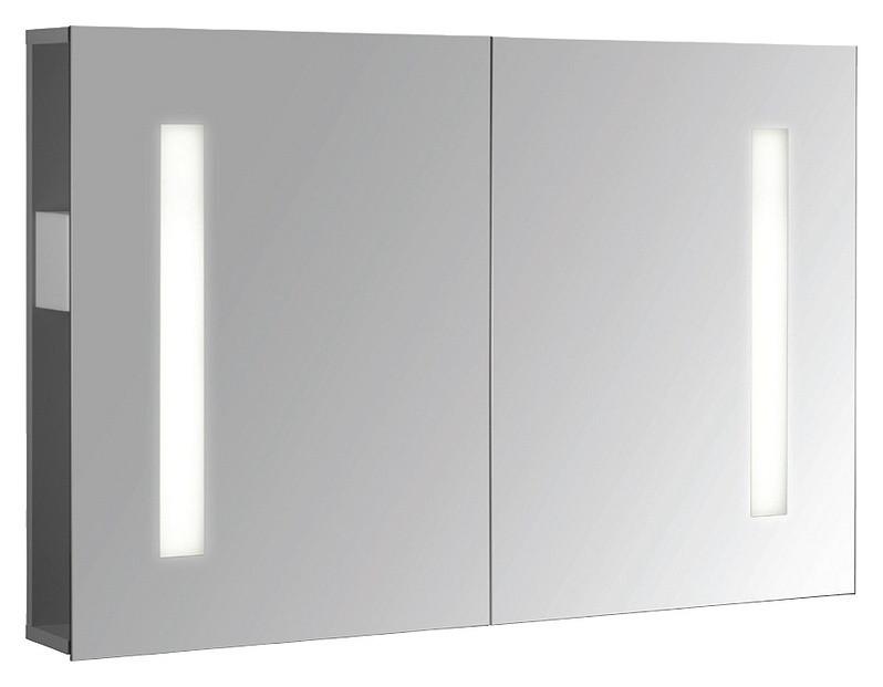 Зеркальный шкаф с флуоресцентной подсветкой 98,2*65 см Jacob Delafon Replay EB1062DRU-NF