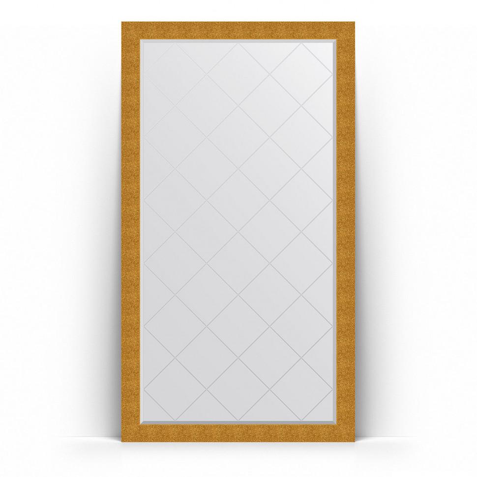 Фото - Зеркало напольное 111х201 см чеканка золотая Evoform Exclusive-G Floor BY 6385 зеркало напольное 81х201 см чеканка золотая evoform definite floor by 6008