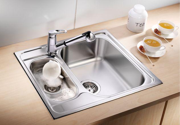 Кухонная мойка Blanco Tipo 6 Basic Полированная сталь 514813 blanco tipo xl 6 s полированная сталь