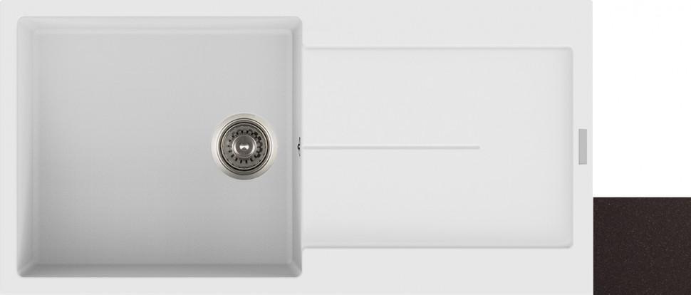 Кухонная мойка марон Longran Enigma ENG1000.500 - 93