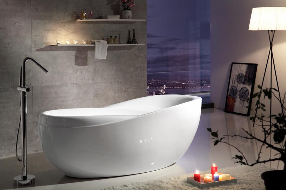 Акриловая ванна 180х85,5 см Gemy G9232 акриловая ванна gemy g9245
