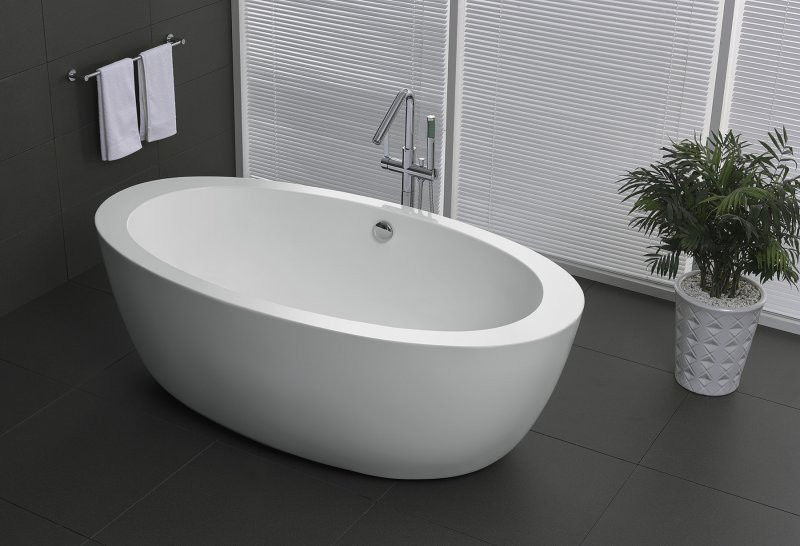 Акриловая ванна 170х90 см BelBagno BB67-1700 акриловая ванна belbagno 170x85 bb42 1700