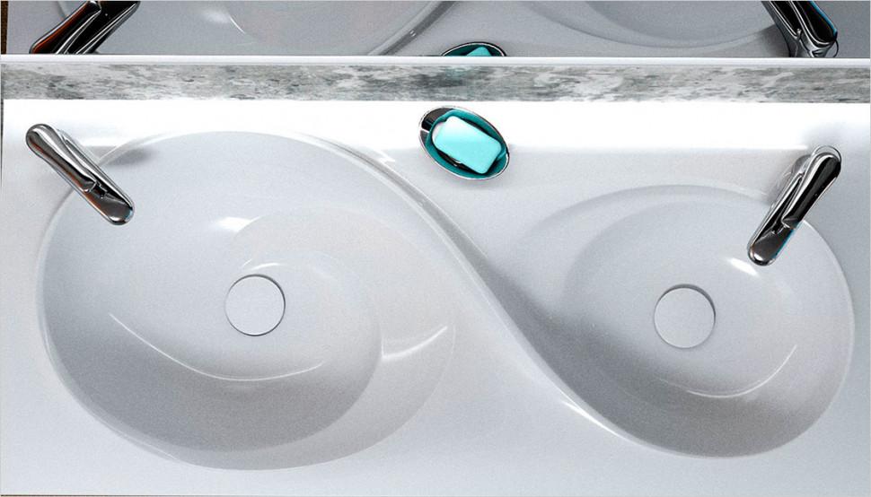 Раковина Velvex Otto 100 зеркало д ванной velvex otto с подсветкой 100 см