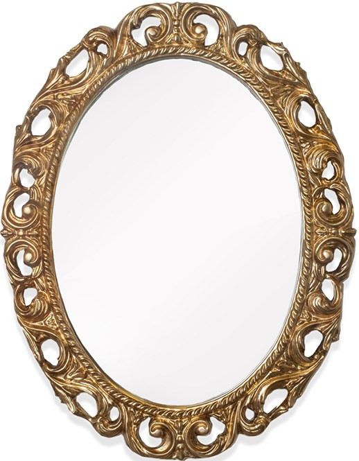 Зеркало 72х92 см золото Tiffany World TW03642oro цена 2017