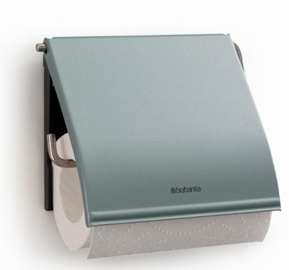 Держатель туалетной бумаги Brabantia Classic 107924 держатель для туалетной бумаги brabantia profile цвет черный 483400