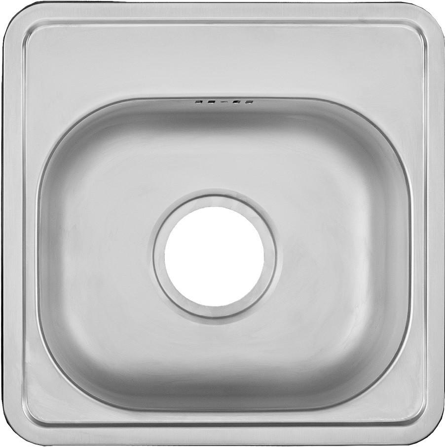 Кухонная мойка матовая сталь Ukinox Комфорт COM381.381 -GT6K -C ukinox fad 760 470 gt6k l