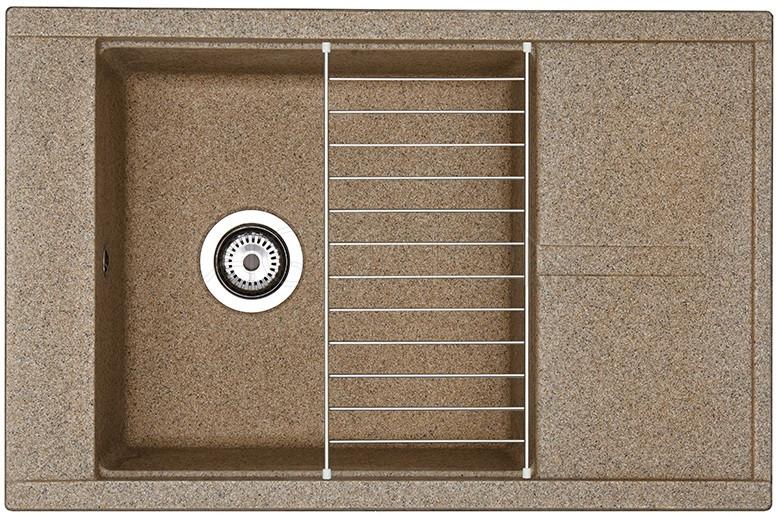 Кухонная мойка Акватон Делия терракот 1A715132DE270 кухонная мойка акватон делия латте 1a718632de260