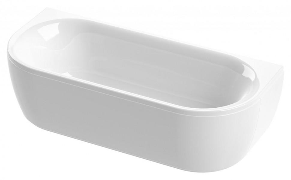 Акриловая ванна 180х80 см Cezares Metauro METAURO-wall-180-80-40