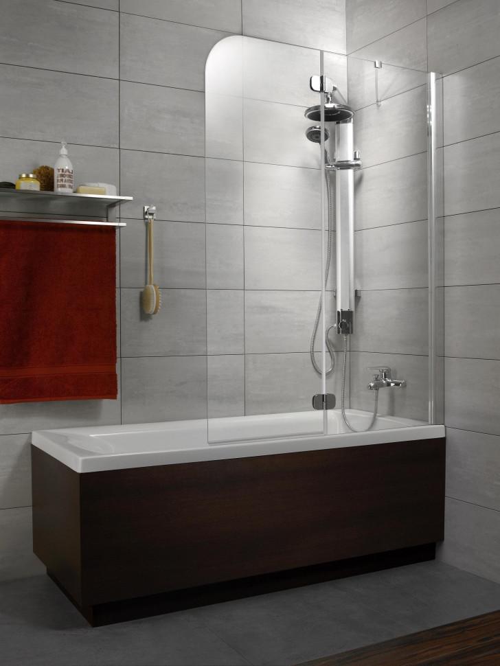 Шторка для ванны Radaway Torrenta PND 121 R графитовое