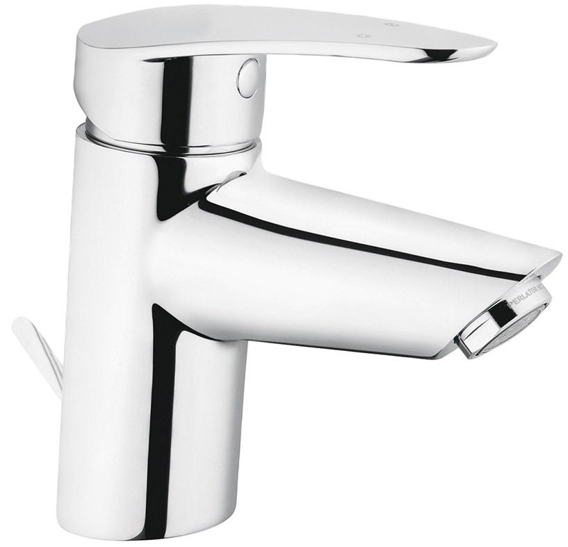 Смеситель для раковины с донным клапаном Vitra Dynamic S A40962EXP vitra смесительvitra dynamic s a42086exp для кухонной мойки