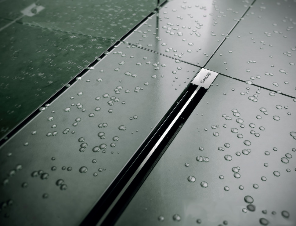 Душевой канал 1050 мм Pestan Confluo Premium Slim Line 13100037 душевой трап pestan drops 3 150 мм 13000011