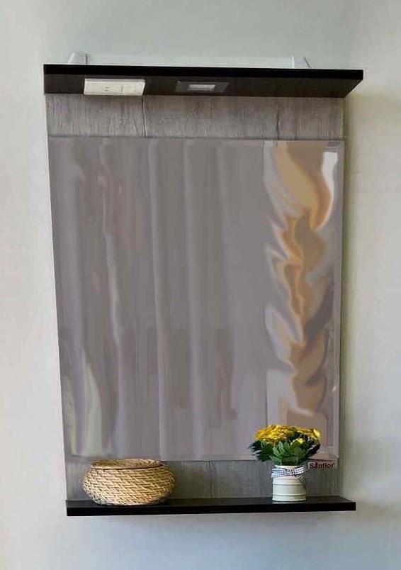 Зеркало 45,4х73,6 см венге/орегон Sanflor Толедо C0000001863