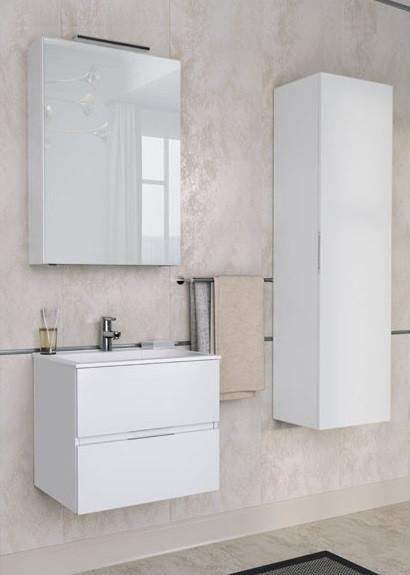 Тумба белый 59 см Aquanet Алвита 00184301 комплект мебели aquanet алвита 184578